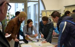 In der Landeszentrale für politische Bildung