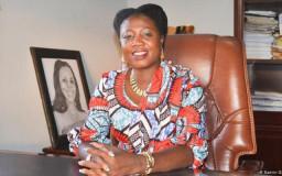 Kandidatin der Präsidentschaftswahl in Ghana 2020: Mercy Adu Gyamfi // Foto: Katrin Gänsler