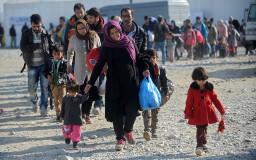 Geflüchtete und Migranten auf ihrem Weg nach Deutschland (Foto: Shutterstock)