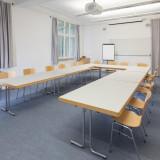 Seminarraum »Oslo« in der »Weißen Villa«. 58m² für 25 Personen