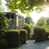Die »Gartenhäuser« mit 3 Seminarräumen, je 59m² für 30 Personen