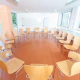 Seminarraum »Valetta« im »Gartenhaus Gelb«. 59m² für 30 Personen