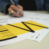 Unterzeichnung der Weimarer Erklärung durch die GEW Thüringen am 18.11.2019 // Foto: Michael Kummer