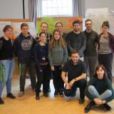 Teilnehmende und studentische Multiplikator*innen der Erstwähler*innen-Kampagne