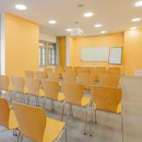 Seminarraum »Stockholm« im »Reithaus«. 61m² für 30 Personen
