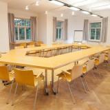 Seminarraum »Moskau« in der »Gelben Villa«. 77m² für 30 Personen