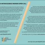Antiracism open call