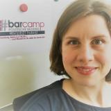 Dorit Machell beim »Barcamp politische Bildung« / Foto: Dorit Machell