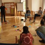 Christian-Friedrich Lohe spricht vor der Seminargruppe