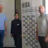 Eric Warasse, Siwan Alkerdi and Wissam Malab at the KIgA network meeting in Berlin