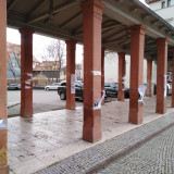 »Remains« of the exhibition at Goetheplatz