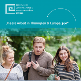 Broschüre »Unsere Arbeit in Thüringen & Europa 360º«