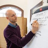 Arbeitsgruppentreffen »Weimarer Erklärung«, Eric Wrasse (EJBW) // Foto: Thomas Müller