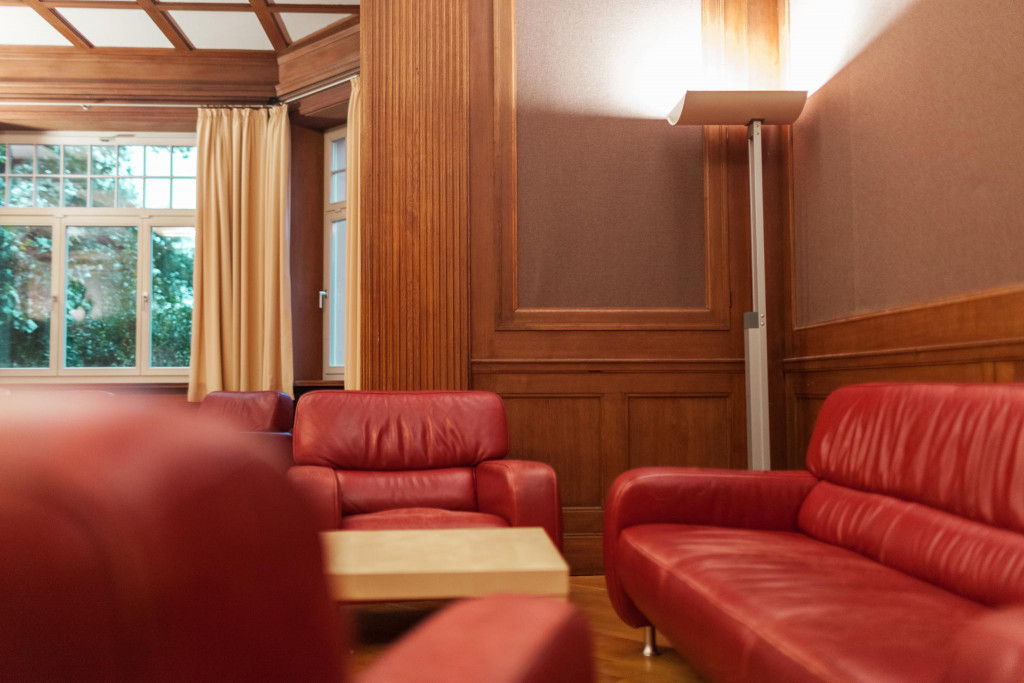 Seminar- und Loungeraum »Dublin« in der »Gelben Villa«