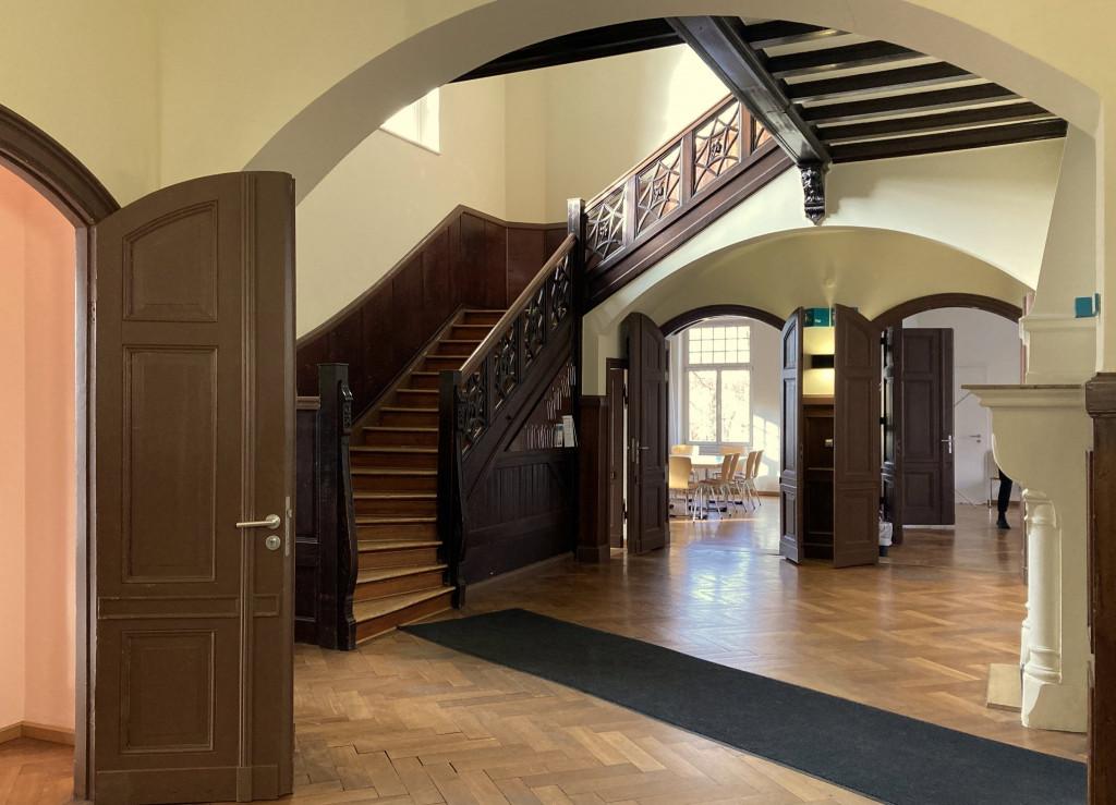 Eingangsbereich der »Gelben Villa«