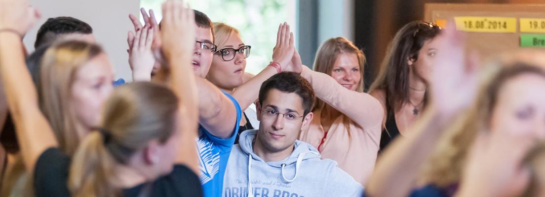 Seminar mit Jugendlichen